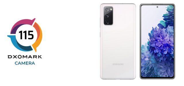 DxOMark Galaxy S20 FE