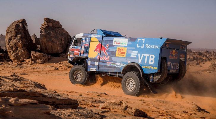 Dakar Rallisi'nde zirve değişmedi