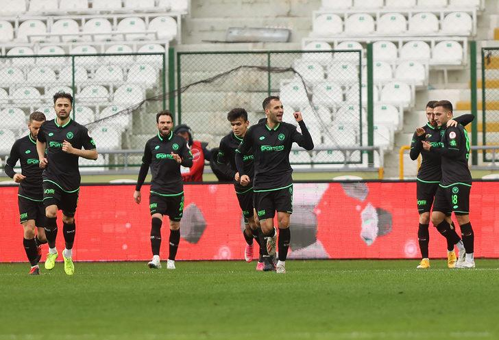İttifak Holding Konyaspor 2-1 Gaziantep FK (Maç sonucu)