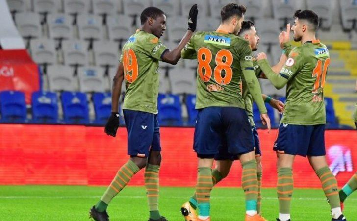 Medipol Başakşehir-Tuzlaspor: 5-1 (Maç sonucu)