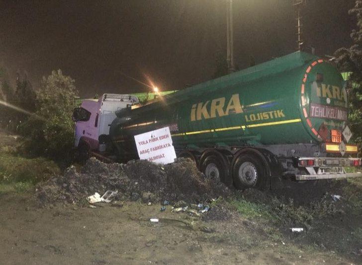 Adana'da seyir halinde kalp krizi geçiren tanker şoförü öldü