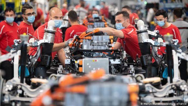 Alman ekonomisi korona yılında yüzde 5 daraldı