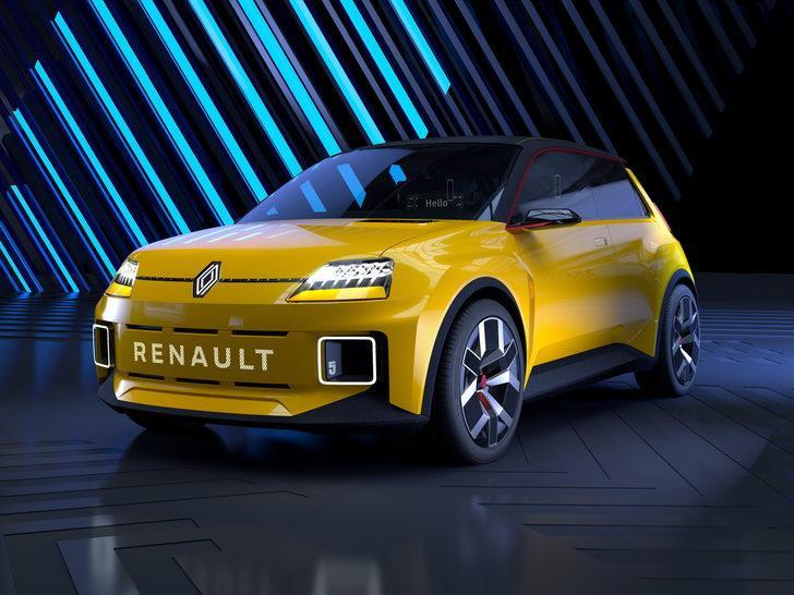 Renault 5 elektrikli motor ile geri dönüyor