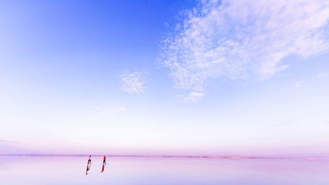 Gökyüzü aynası: Tuz Gölü