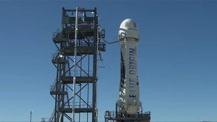 Blue Origin, yörünge altı mekiğinin insansız test uçuşunu yaptı