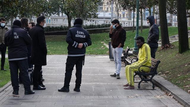 Gezi Parkı'nda tir tir titrerken bulundu hiçbir yardımı kabul etmedi