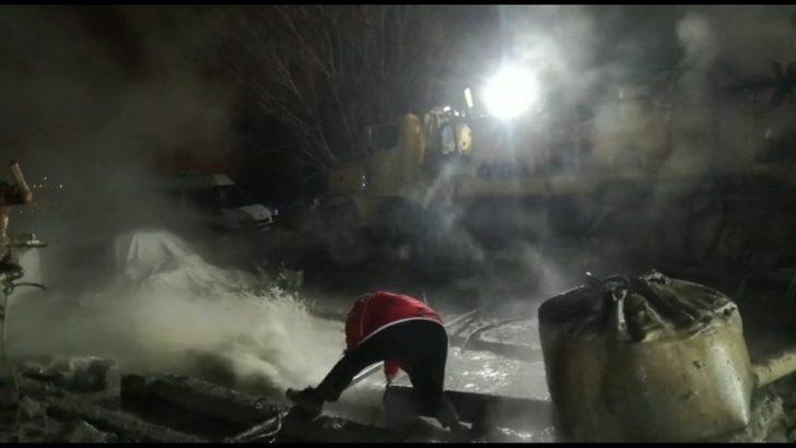 Varto'da vurulan sondajda 39 derecelik sıcak su çıktı