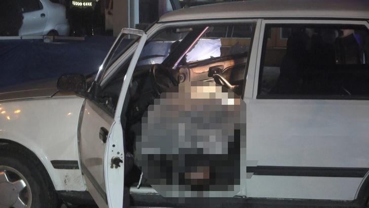 Bursa'da dehşet! Otomobilde tüfekle vurulan iki kişi yaşamını yitirdi
