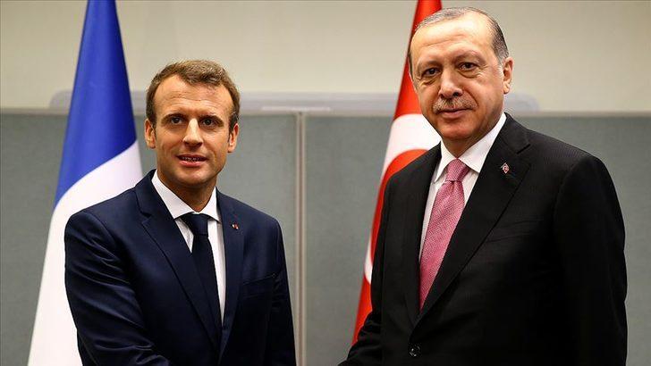 Macron'dan Cumhurbaşkanı Erdoğan'a mektup