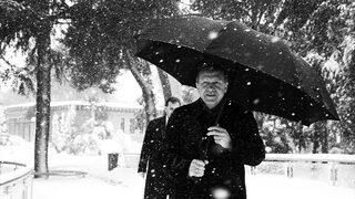 Erdoğan paylaştı: Bir kar hatırası
