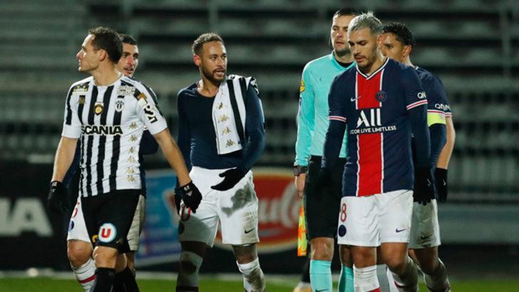 ÖZET   Angers - PSG maç sonucu: 0-1