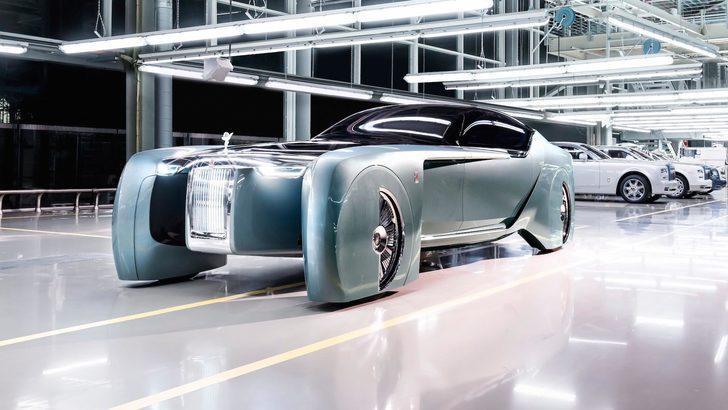 Rolls-Royce Silent Shadow elektrikli olarak mı gelecek?