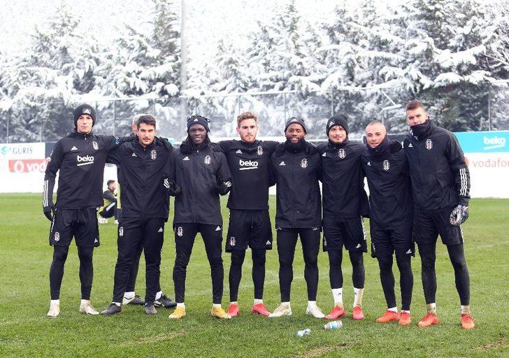 Beşiktaş, Fatih Karagümrük maçı hazırlıklarına başladı