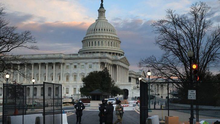Son dakika! ABD Kongre Binası kapatıldı