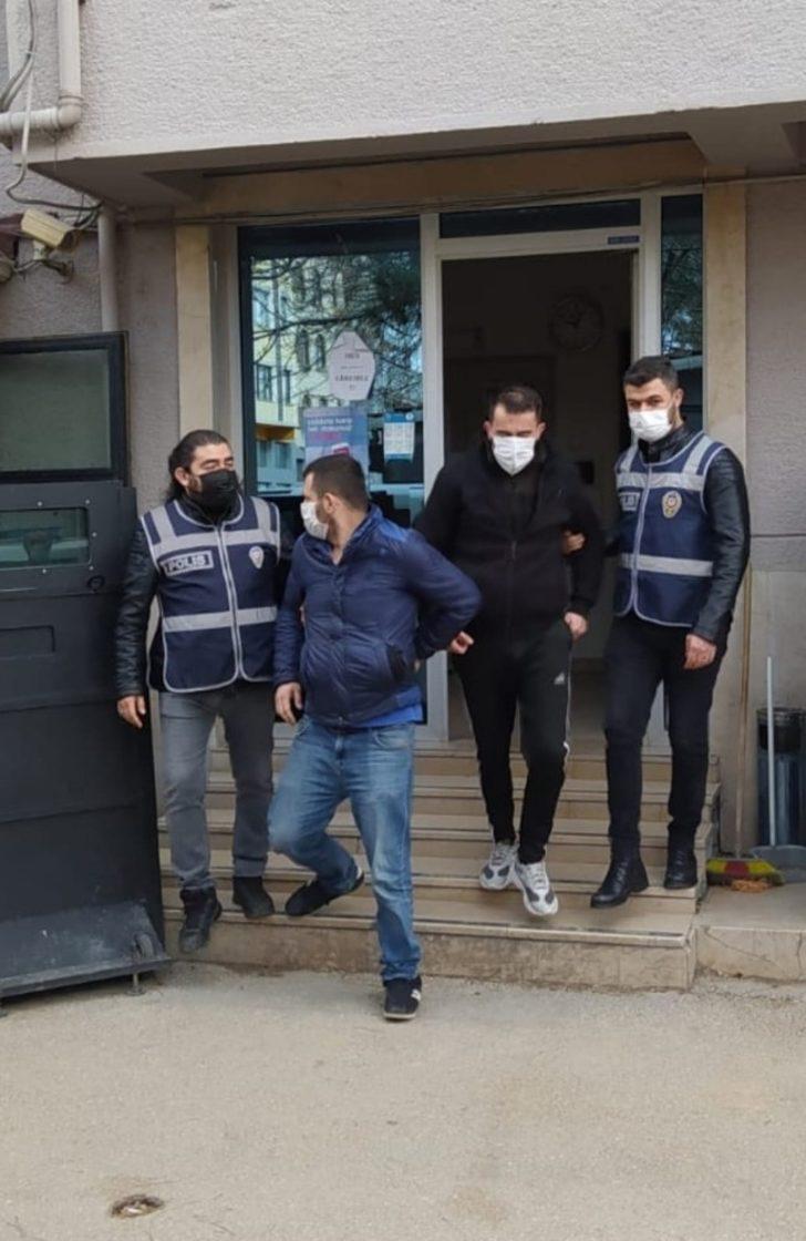 Bağ evini soyan hırsızlar tutuklandı