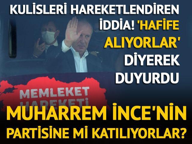 CHP'li 3 milletvekili Muharrem İnce'nin partisine mi katılacak?