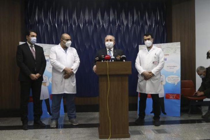 TBMM Başkanı Mustafa Şentop koronavirüs aşısı oldu