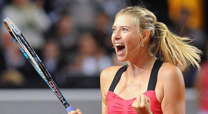 Maria Sharapova'nın yüzüğü 400 bin dolar değerinde!