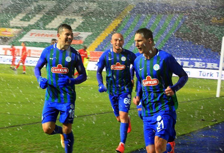 Çaykur Rizespor 3-0 Gaziantep FK  (Maç Sonucu)
