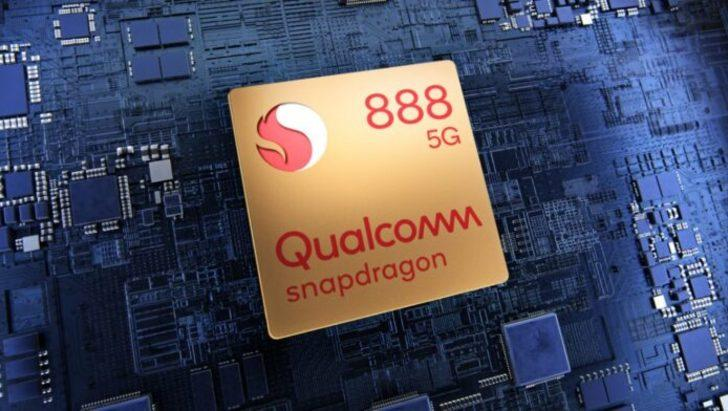 Qualcomm Snapdragon 888 kullanan cihazlar