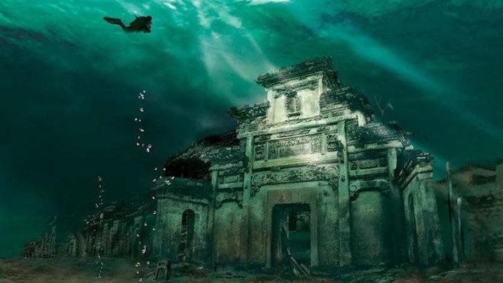 Sular altında kalan 5 batık şehir