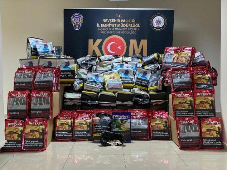 Nevşehir'de KOM Şube Müdürlüğü 2020 yılında 169 kişiye adli işlem yaptı