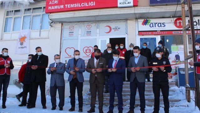 Türk Kızılayı Hamur temsilciliği açıldı
