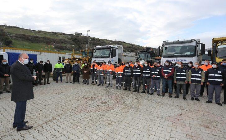 Sandıkçı'dan saha ekibine teşekkür