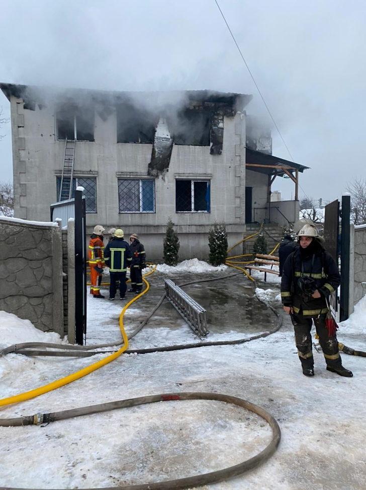 Ukrayna'da huzurevinde yangın: 15 kişi öldü