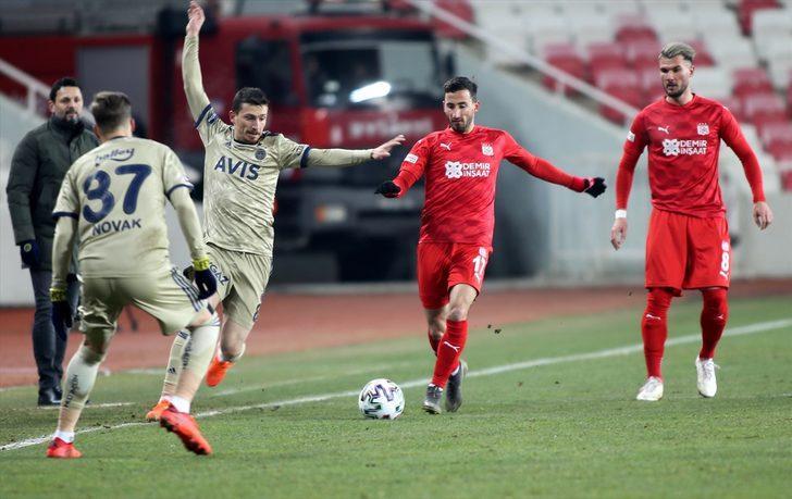 ÖZET | Sivasspor 1-1 Fenerbahçe