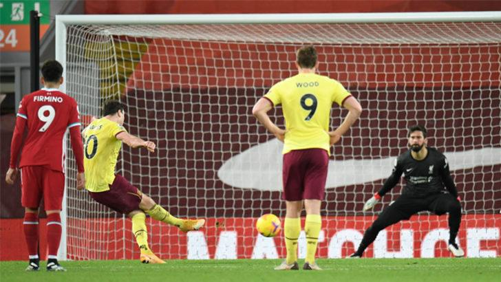 ÖZET | Liverpool -  Burnley maç sonucu: 0-1