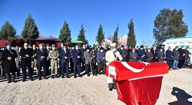 Kore Gazisi Erdoğan son yolculuğuna uğurlandı