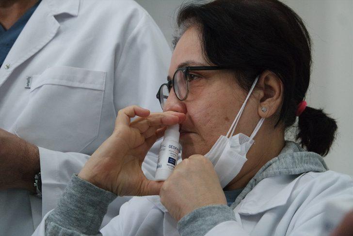 Bursa'da koronavirüse karşı etkili ağız ve burun spreyi geliştirildi