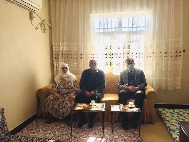 Dicle Kaymakamı Kadir Yurdagül'den şehit ailesine ziyaret