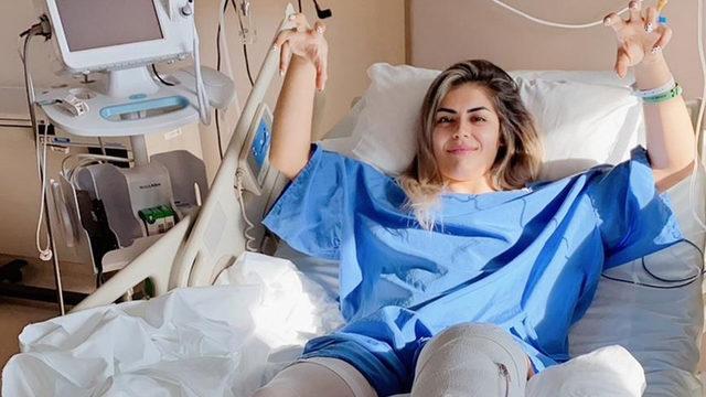 Beşiktaşlı Sevgi Çınar, çapraz bağ ameliyatı oldu