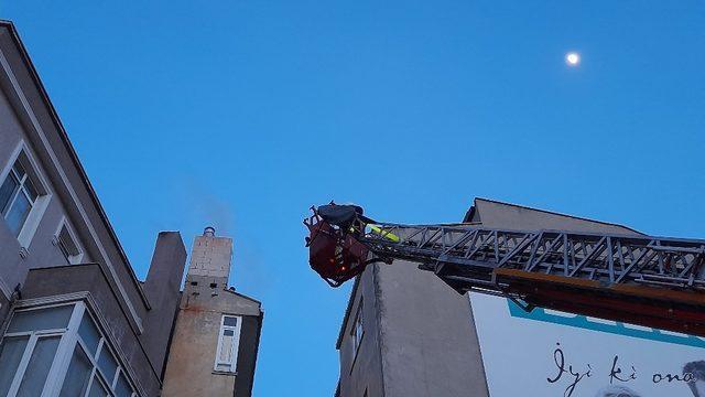 Edirne'de baca yangını paniğe neden oldu