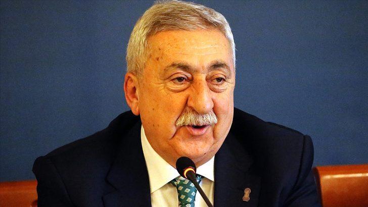 TESK Genel Başkanı Palandöken, esnafın sorunlarını Cumhurbaşkanı Erdoğan'a aktardı