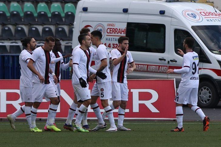 Denizlispor 1-2 Fatih Karagümrük (Maç sonucu)