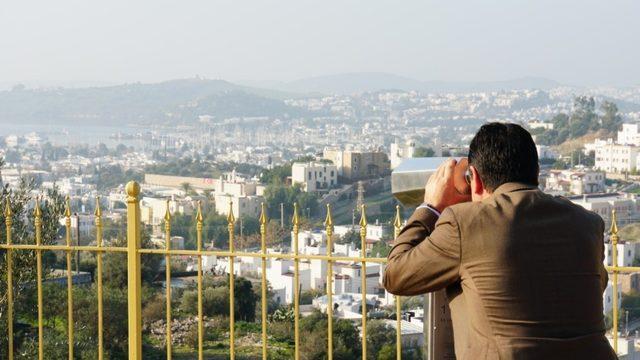 Milyonlarca turist Bodrum'u artık seyir terasından izleyecek
