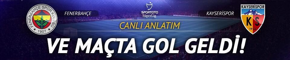 CANLI   Fenerbahçe-Kayserispor