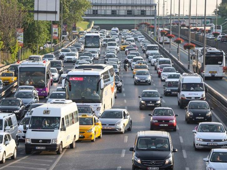 Trafiğe kaydı yapılan taşıt sayısı 2020'de yüzde 54.8 arttı