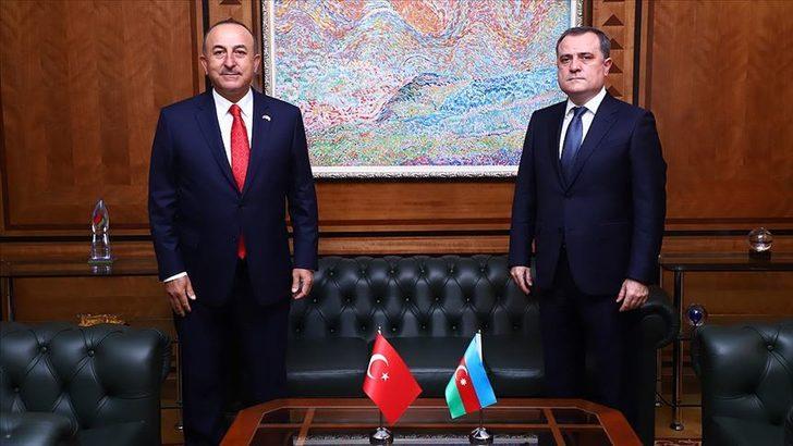 Bakan Çavuşoğlu, Azerbaycan Dışişleri Bakanı  Bayramov ile telefonda görüştü