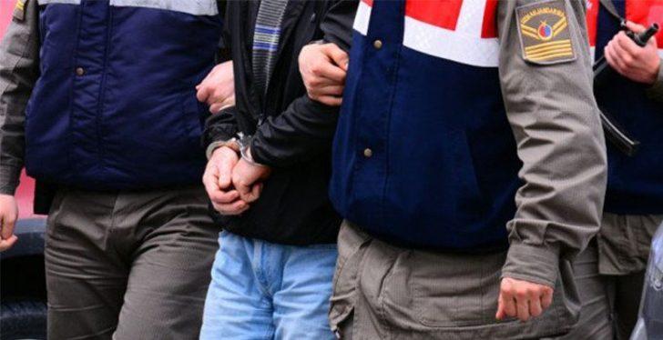 10 yıl kesinleşmiş hapis cezası bulunan zanlı jandarmanın takibi ile yakalandı