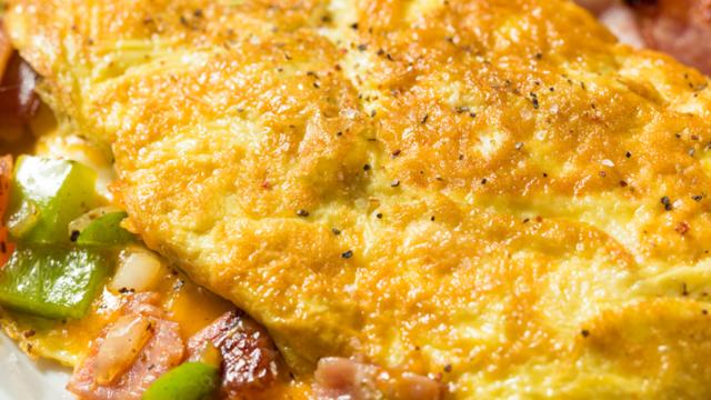 Atom omlet! Akşama kadar acıktırmıyor