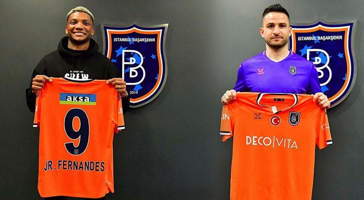 Başakşehir'in yeni transferleri Junior Fernandes ve Ömer Ali Şahiner 11'de