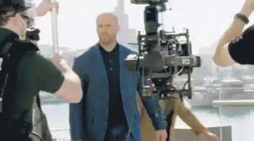 Jason Statham, Antalya'daki çekimlerden paylaştı