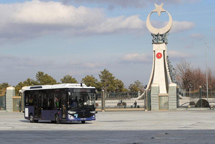 Karsan Otonom Atak Electric'in ilk yolcusu Cumhurbaşkanı Erdoğan oldu!