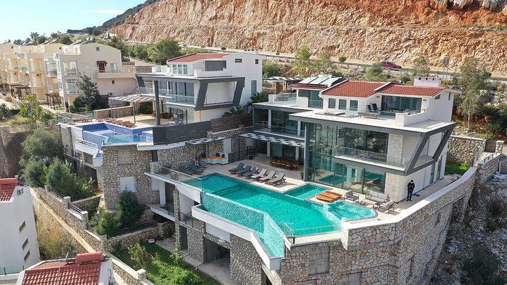 """Villa turizmine ilgi """"5 yıldızlı konforu"""" beraberinde getirdi"""