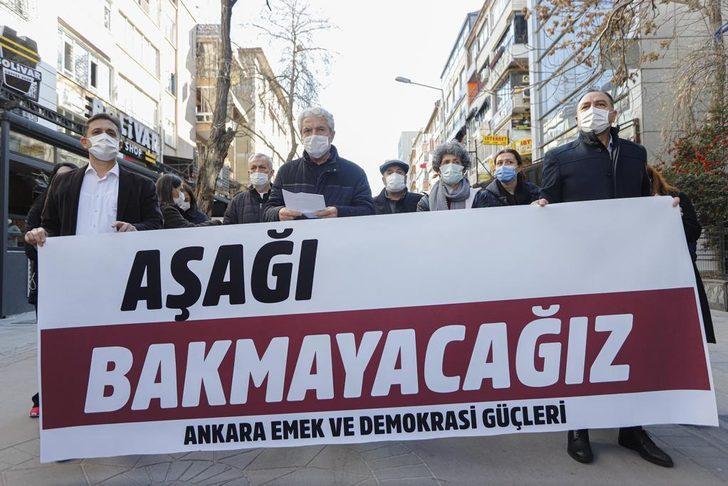 Ankara'da Boğaziçi eyleminde 30 gözaltı