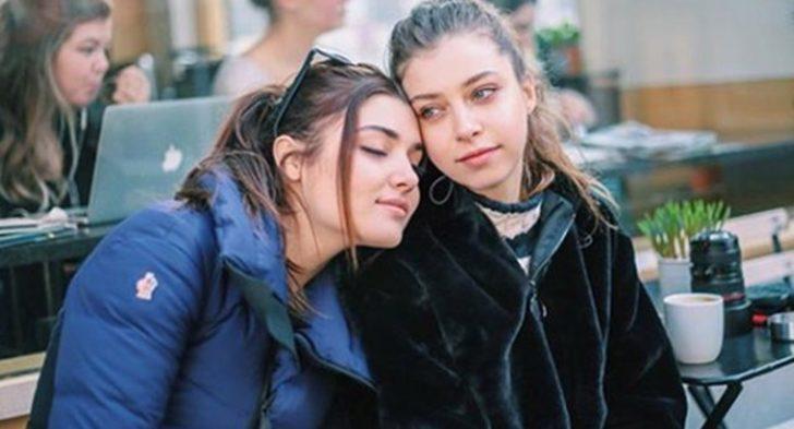 Hande Erçel'in kardeşi Gamze Erçel yazı getirdi